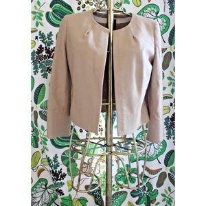 J.Crew Wool Twill Astrid Open Front Blazer Jacket
